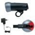 Zestaw lamp Trelock LS500 i LS510 na przód i tył, z zasilaczem i akumulatorami